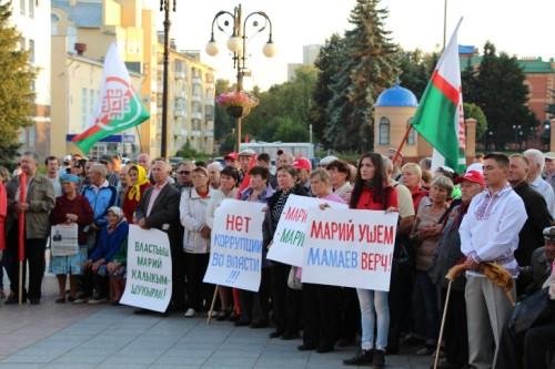 С.Мамаев верч митингыште Йошкар-Олаште, 28.08.2015 ий